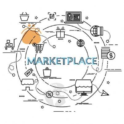 simbolo di marketplace