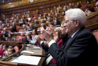 presidente mattarella alla Camera