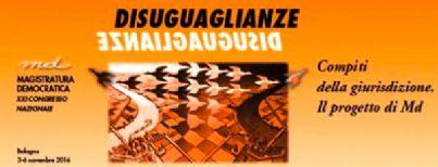 Banner XXI Congresso Nazionale Magistratura democratica