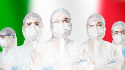 medici in Italia per coronavirus
