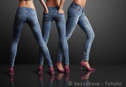 Modelle in jeans