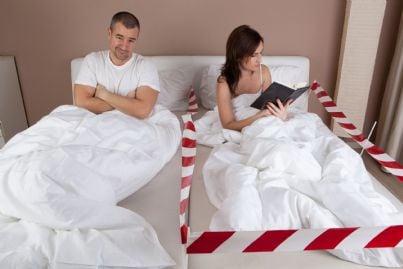 moglie e marito separati anche a letto