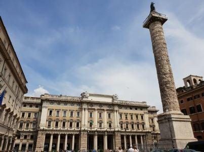 Palazzo Montecitorio sede Camera dei deputati