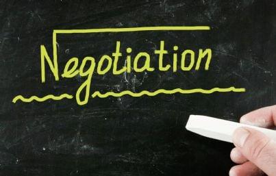 parola negoziazione in inglese