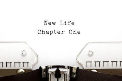 nuova vita capitolo uno sulla macchina da scrivere