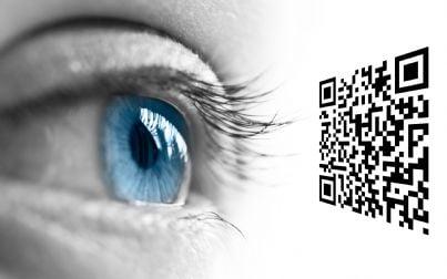 occhio che guarda qr code