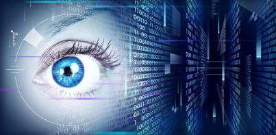 occhio metafora di spia digitale intercettazioni