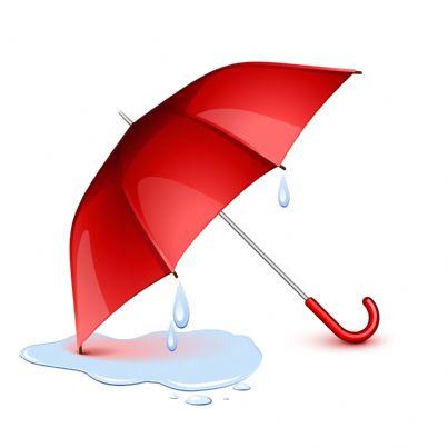 ombrello che sgocciola