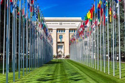 la sede Onu di Ginevra