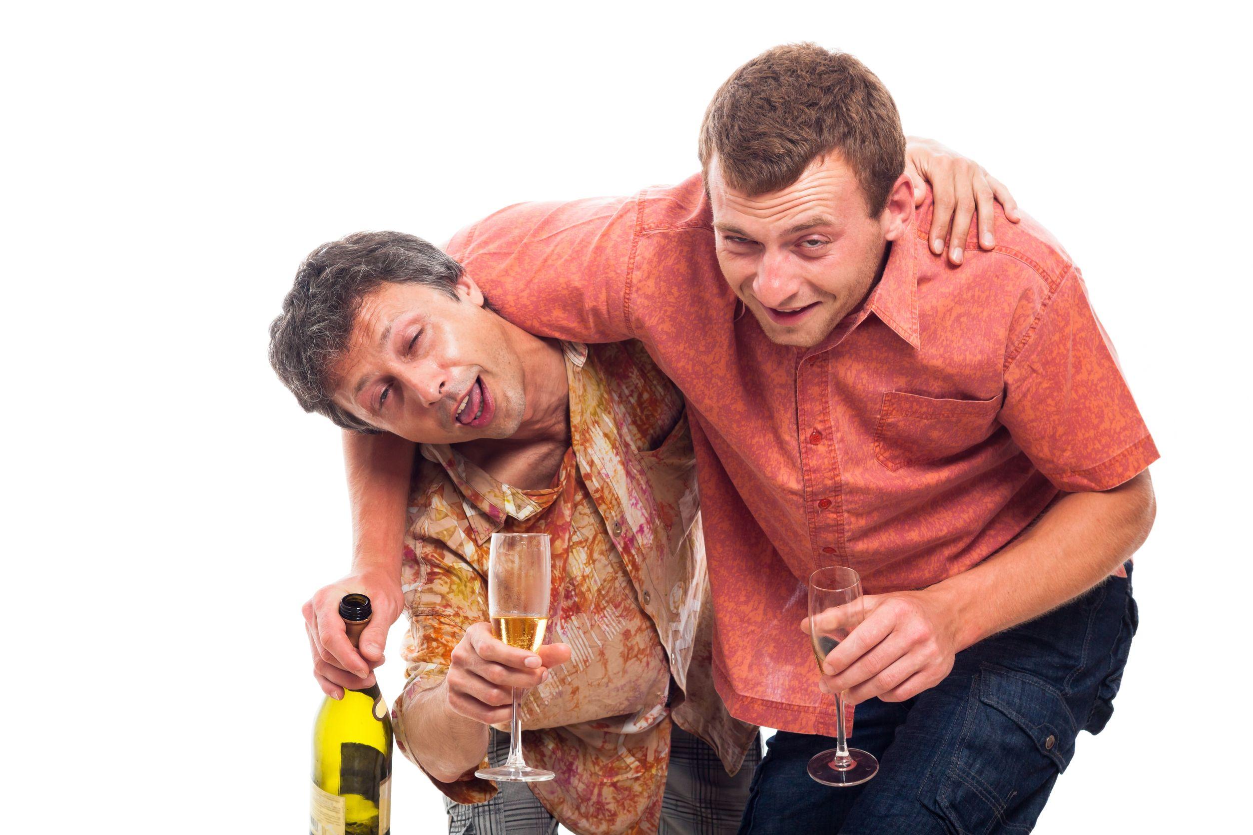 Пьяную на двоих