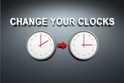 orologi che indicano cambio ora legale