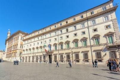 palazzo Chigi sede del governo italiano