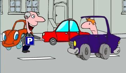 parcheggio parcheggiatore