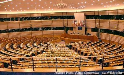 Aula del Parlamento Europeo