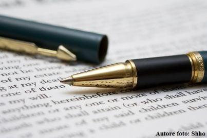 penna accordo scrive contratto notaio