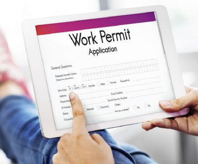 richiedere un permesso di lavoro