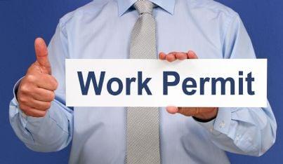 permesso di lavoro autorizzato