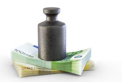 peso sui soldi