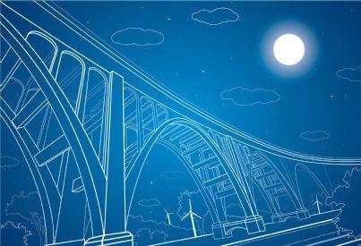 progetto di un ponte