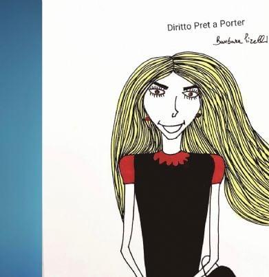 rubrica pretaporter disegni di Barbara Pirelli