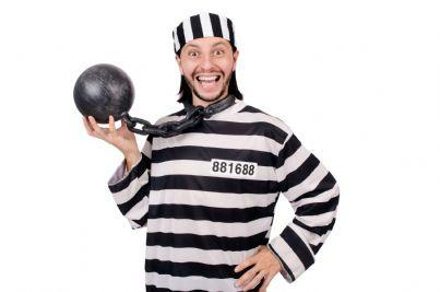 detenuto felice in prigione