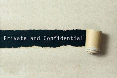parole privacy e confidenziale