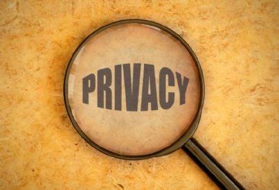 parola privacy con lente