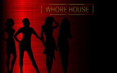 Sagoma di donne a simboleggiare il mondo della prostituzione