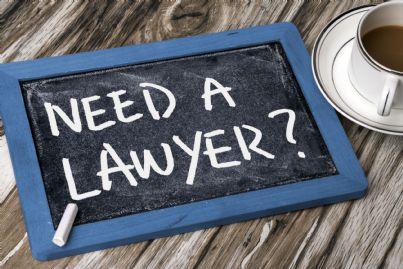 lavagna pubblicitaria per servizi legali