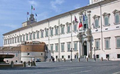 Foto del palazzo del Quirinale