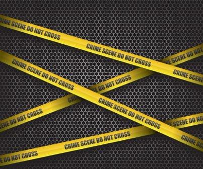 nastro che delimita scena del crimine