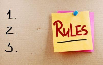 lista di regole