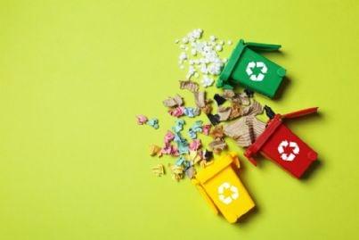 bidoni per la raccolta differenziata dei rifiuti
