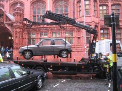 rimozione auto id10344