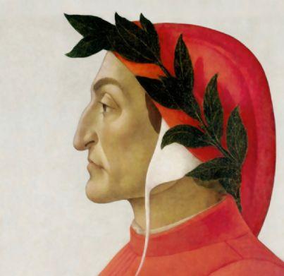 ritratto di Dante di Sandro Botticelli