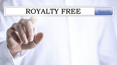 licenza royalty free e copyright