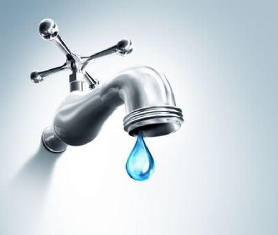 rubinetto acqua chiuso