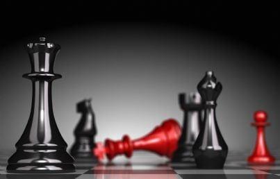 scacco matto concetto manovra finanziaria