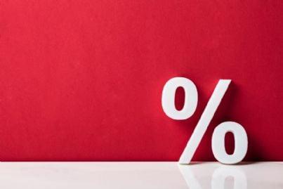percentuale per taglio tasse