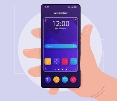 fare uno screenshot con il telefono