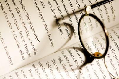 Scrivere occhiali libro letture