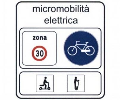 segnali stradali per la micromobilità