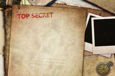 immagine che evoca segreto d'ufficio atti top secret