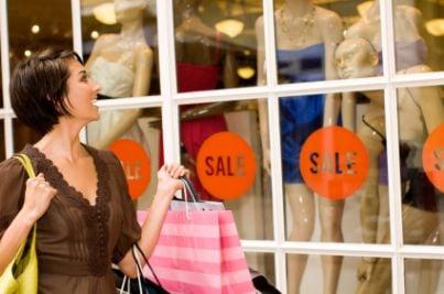 shopping acquisti negozio saldi outlet
