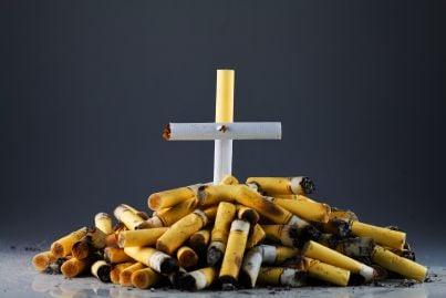 sigarette a forma di tomba perché il fumo fa male