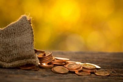 soldi e risparmi al tramonto