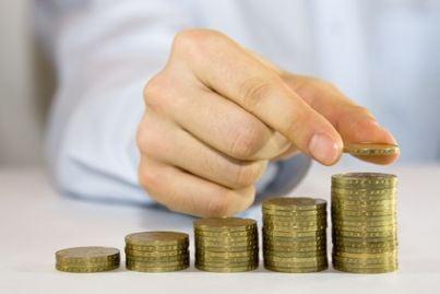 soldi euro risparmio crescita