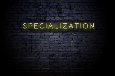 parola specializzazione muro