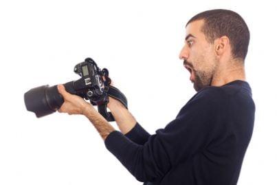spiare fotocamere obiettivo