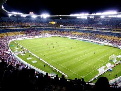 Stadio affollato